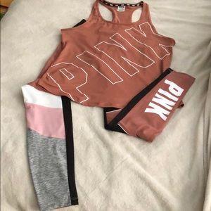 Pink Outfit-Tank & Ultimate Leggings